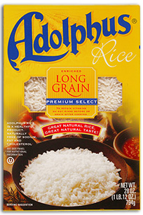 Adolphus® White Rice
