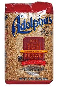 Adolphus® Whole Grain Brown Rice